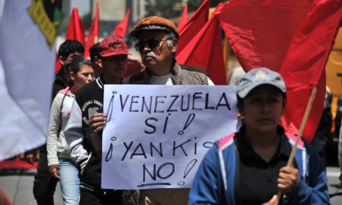 Gobierno convoca a marcha antimperialista este lunes