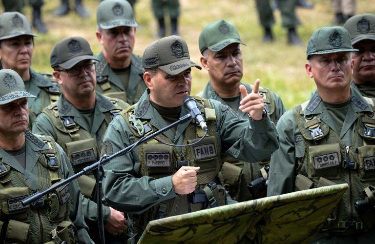 Resultado de imagen para venezuela ministros militares