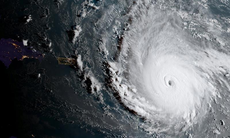 Huracán Irma deja varias víctimas en el Caribe