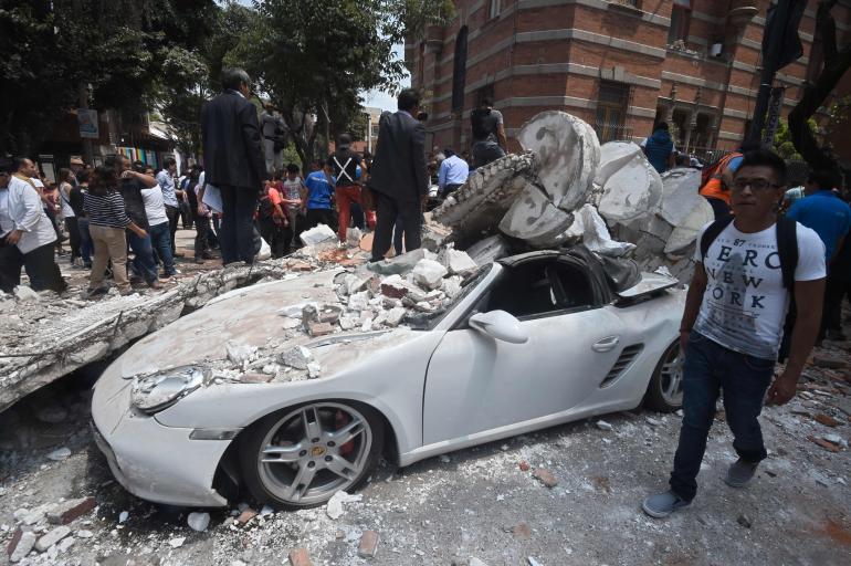 Xochimilco, así fue sacudido por el sismo de 7.1