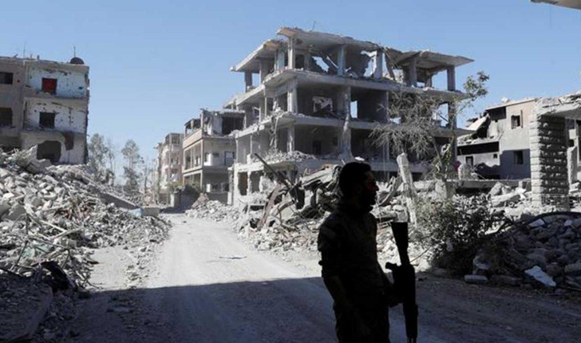 Al Raqa aún no está totalmente en manos de las FSD