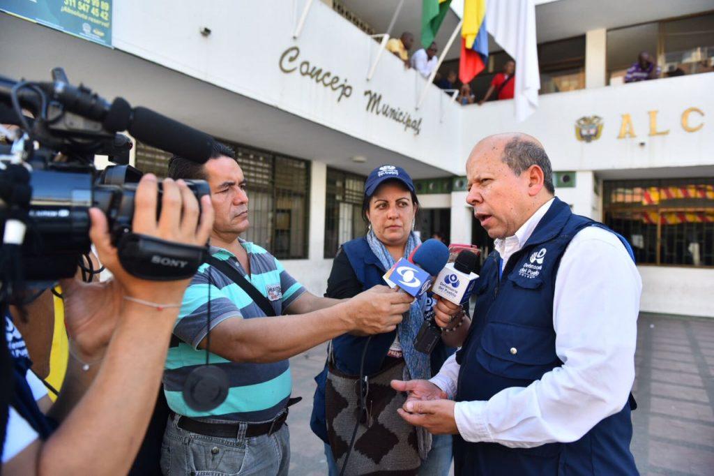 Comisiones de la Procuraduría y la Defensoría llegaron a Tumaco, Nariño