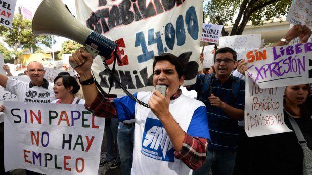 Sindicato de prensa venezolano registra 498 violaciones a la libertad de expresión