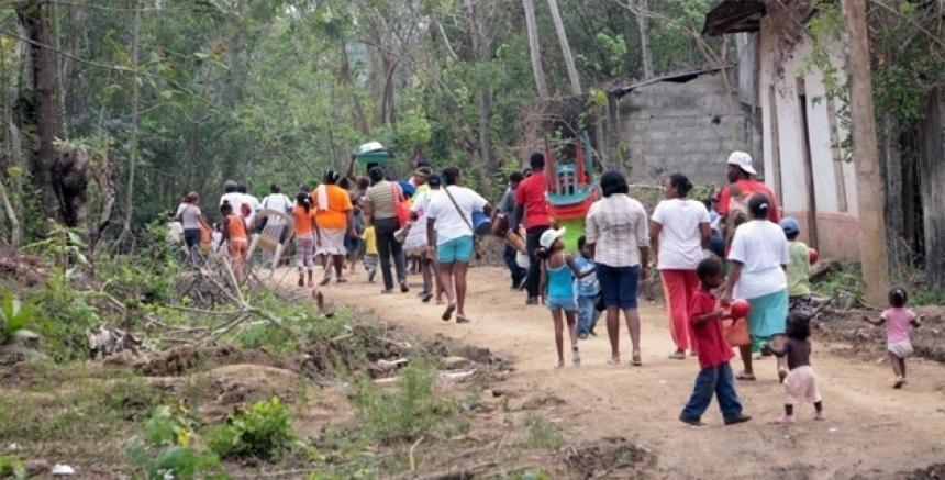 Más de 1.000 desplazados en cuatro días