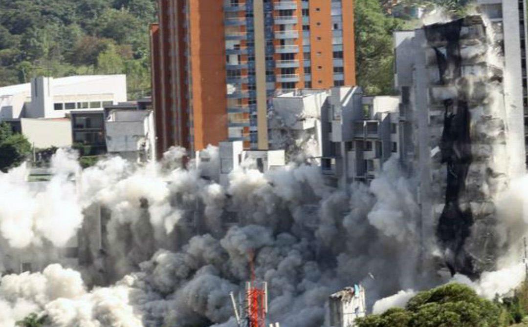 Otorgan prisión domiciliaria a responsables en el desplome del Edificio Space