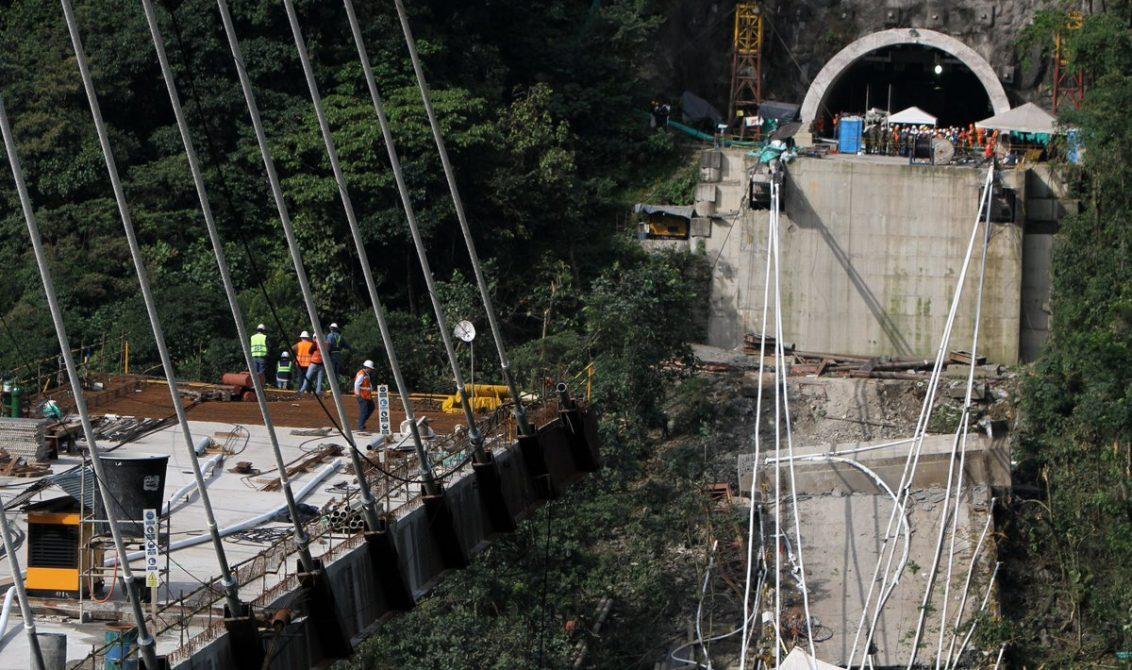 Inminente desplome del resto del puente Chirajara