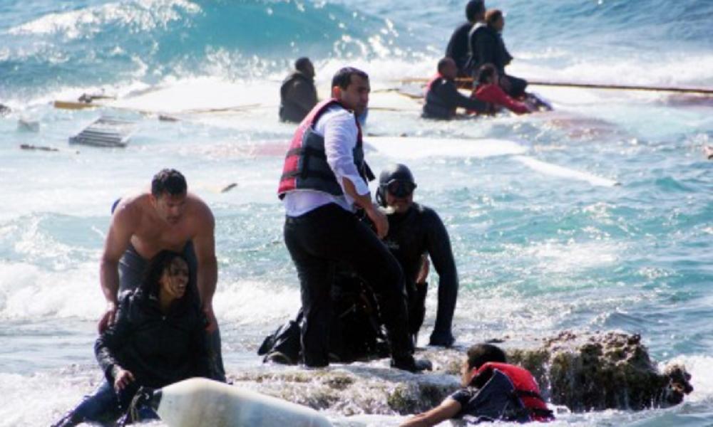 Naufragio dejó 25 ahogados: En costas libias