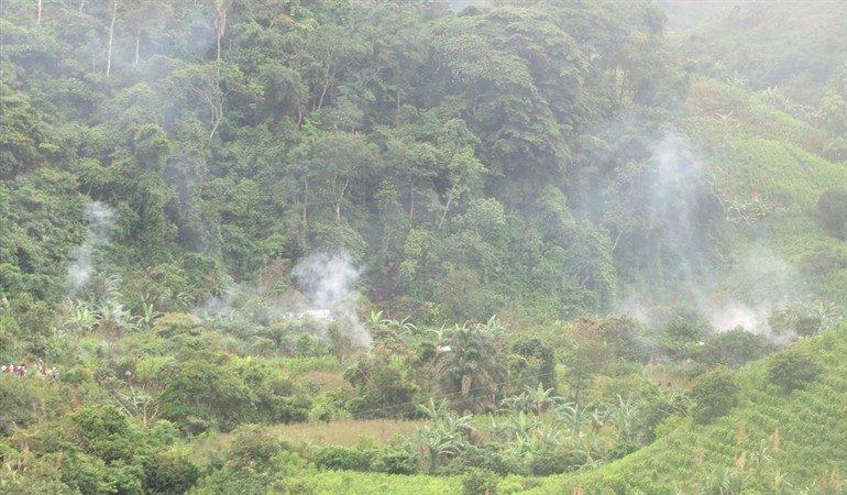 Siete muertos en enfrentamientos armados en el Cauca colombiano