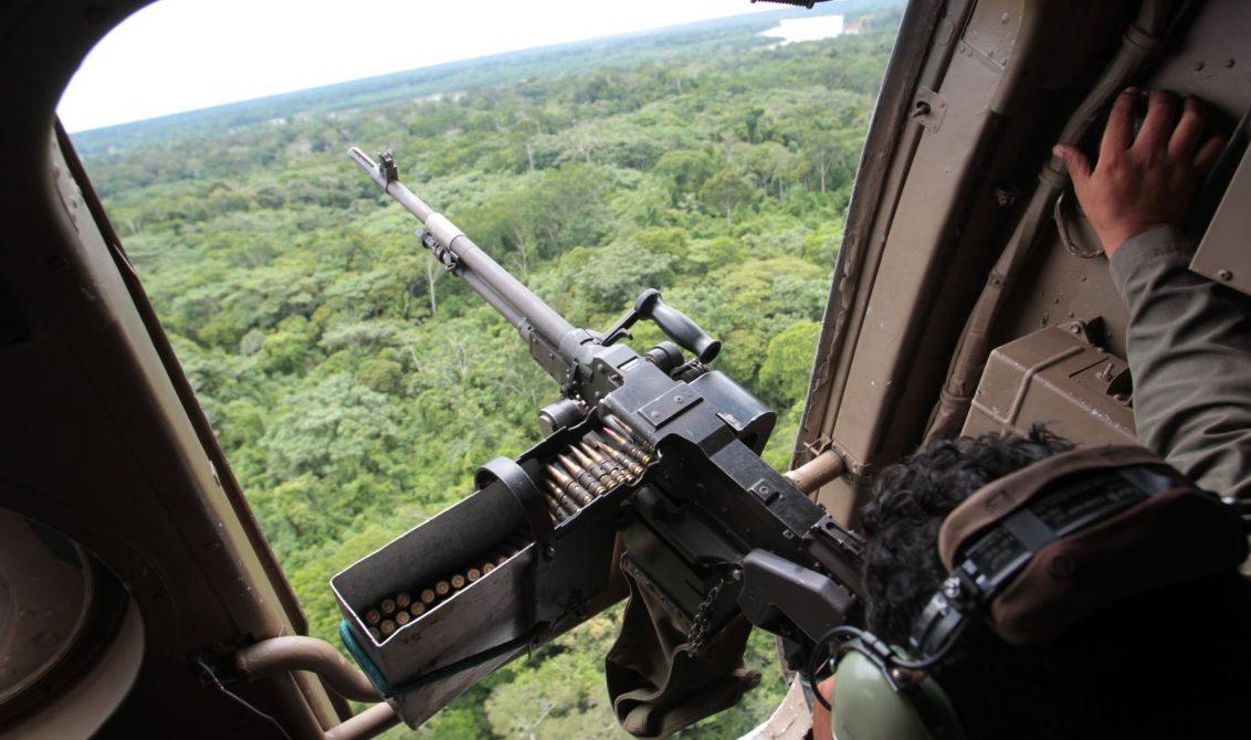 Dos capturados deja bombardeo contra el ELN en el Chocó