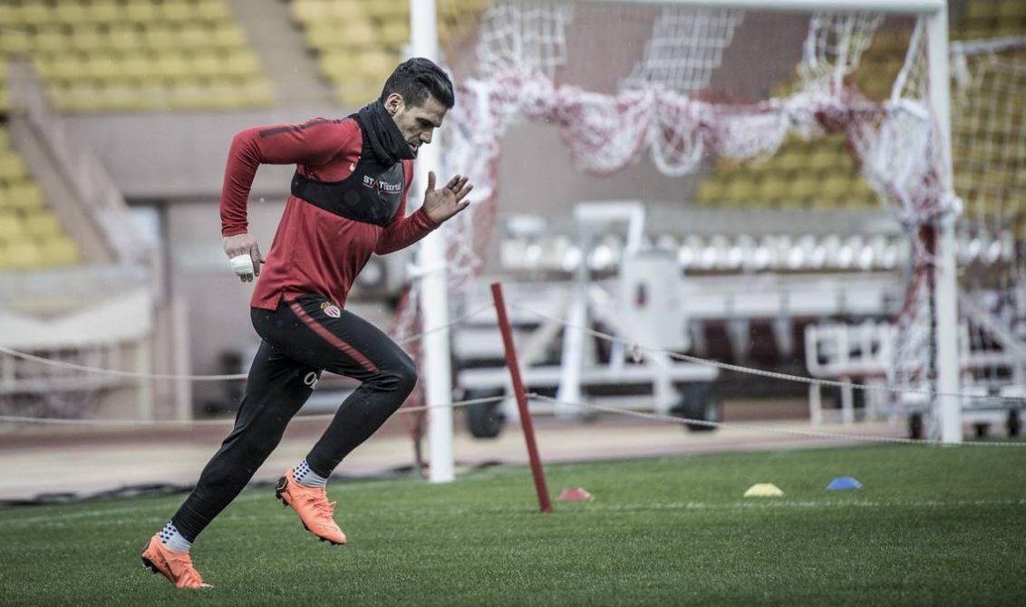 Radamel Falcao vuelve a los entrenamientos del Mónaco luego de tres semanas