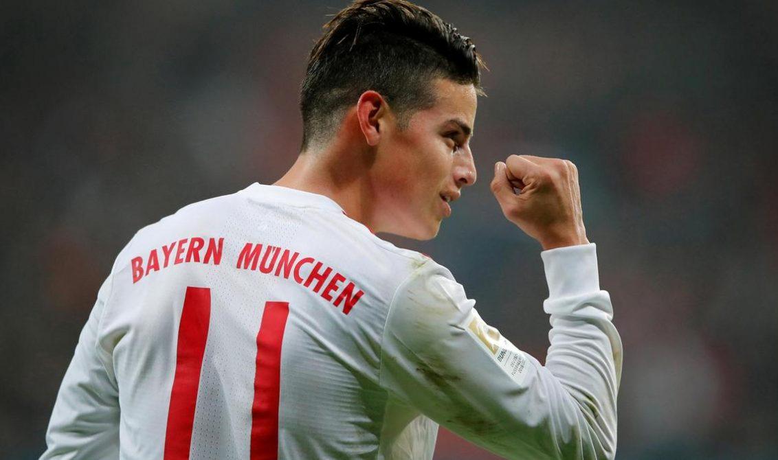 Gol de James, elegido mejor tanto de enero en la Bundesliga