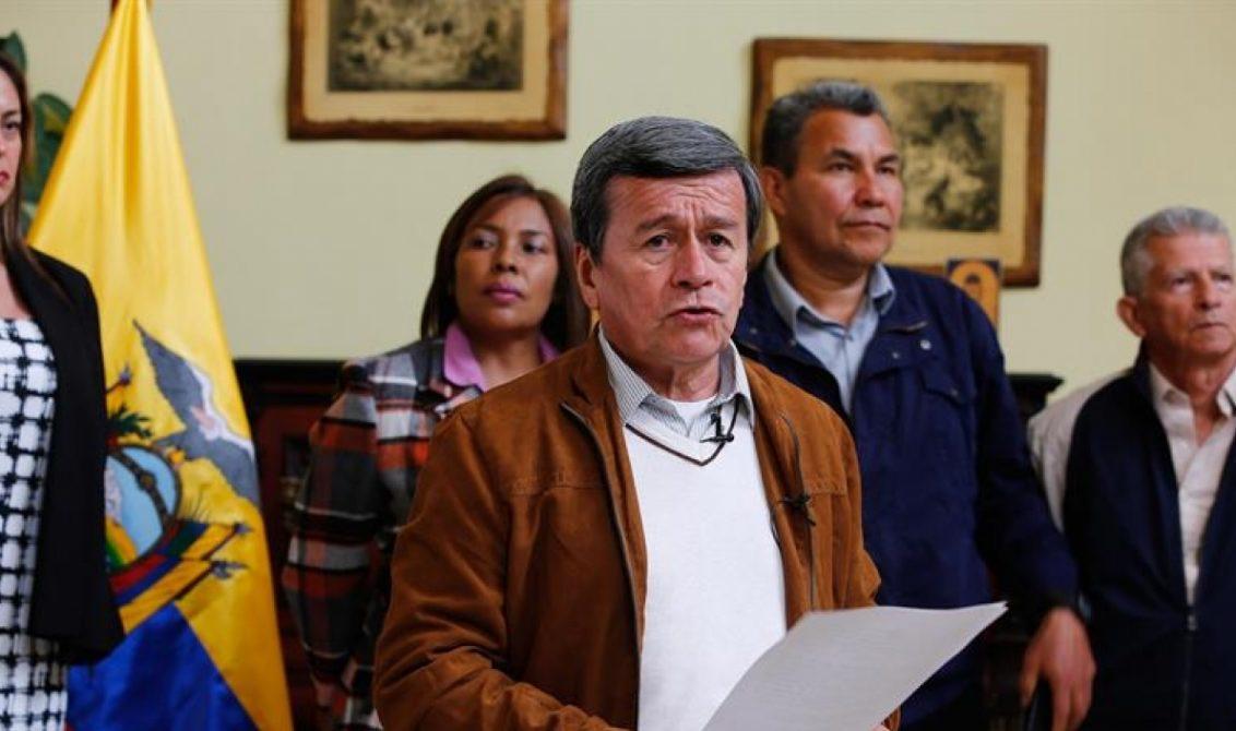 Diálogos con el ELN se retomarán el jueves en Ecuador