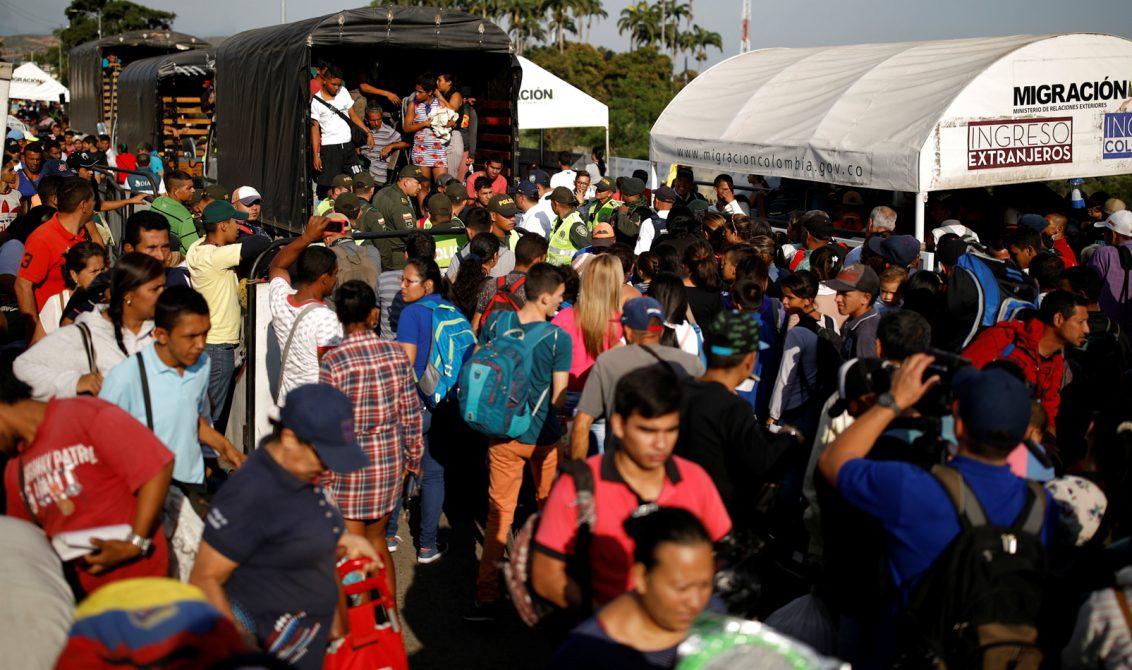 UE anuncia €8 millones para ayuda en Colombia y migrantes de Venezuela