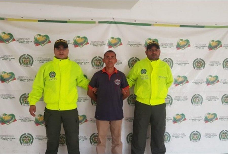Capturado Tierralta José Lugo