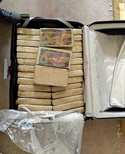 Otro narcojet: incautan en España una tonelada de cocaína proveniente de Colombia