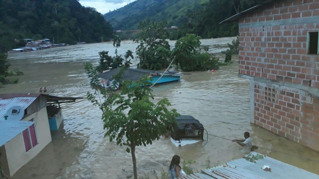 Declaran calamidad pública en zona colombiana afectada por hidroeléctrica