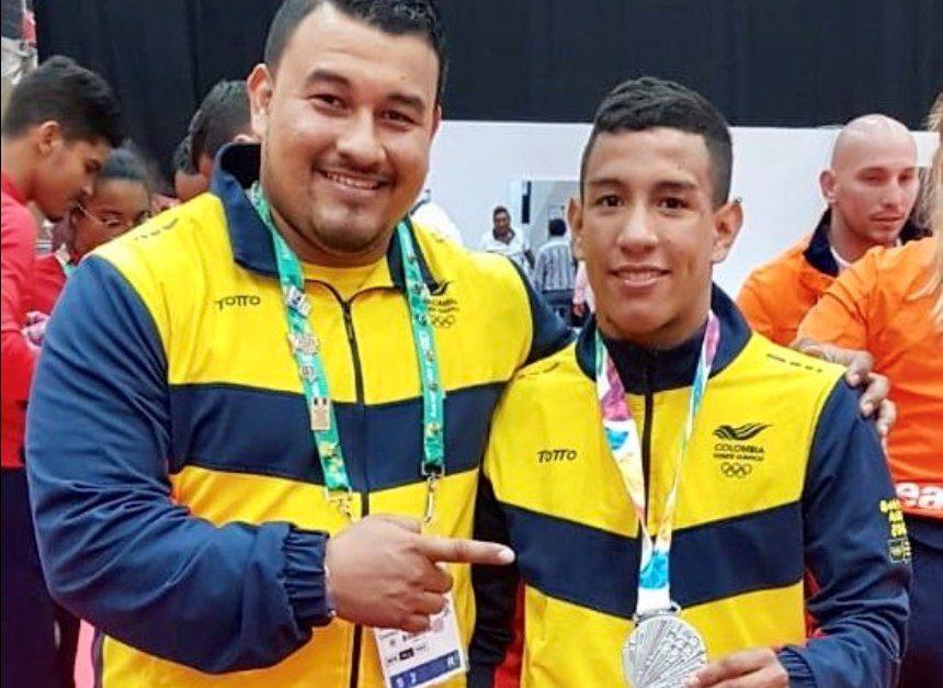 Resultado de imagen para judoca Juan Felipe Montealegre