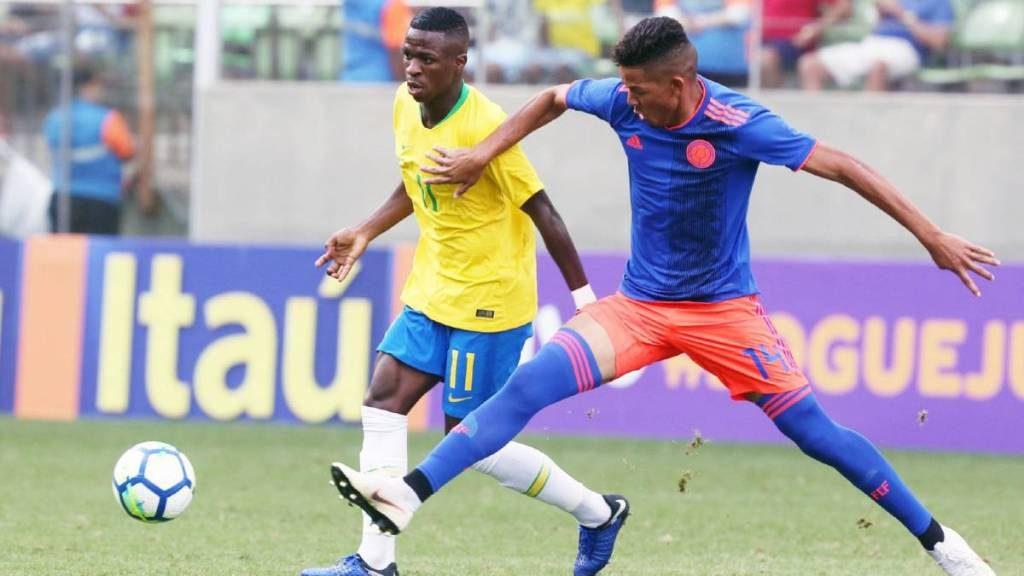 Selección Colombia Sub-20 se foguea en territorio brasileño