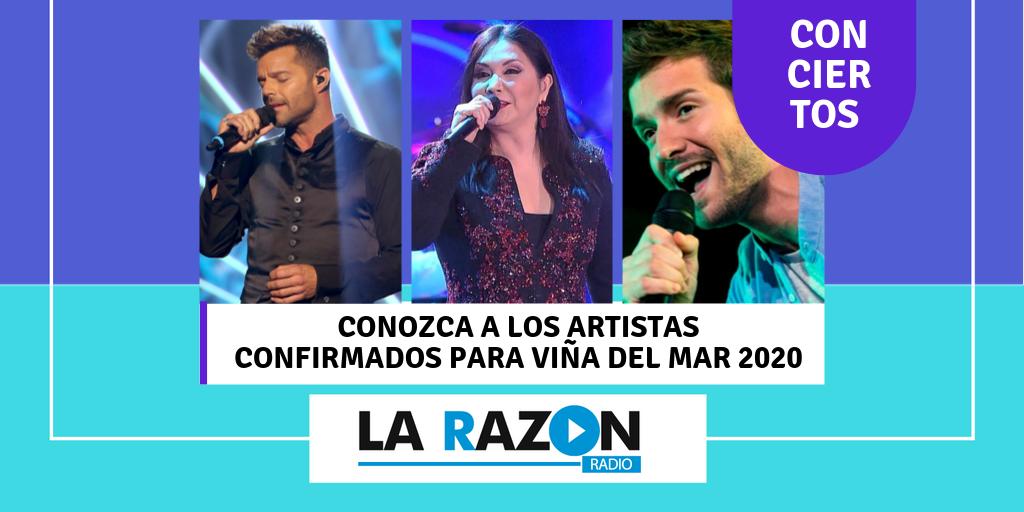 Vina Del Mar Festival 2020.Conozca Los Artistas Confirmados Para Vina Del Mar 2020