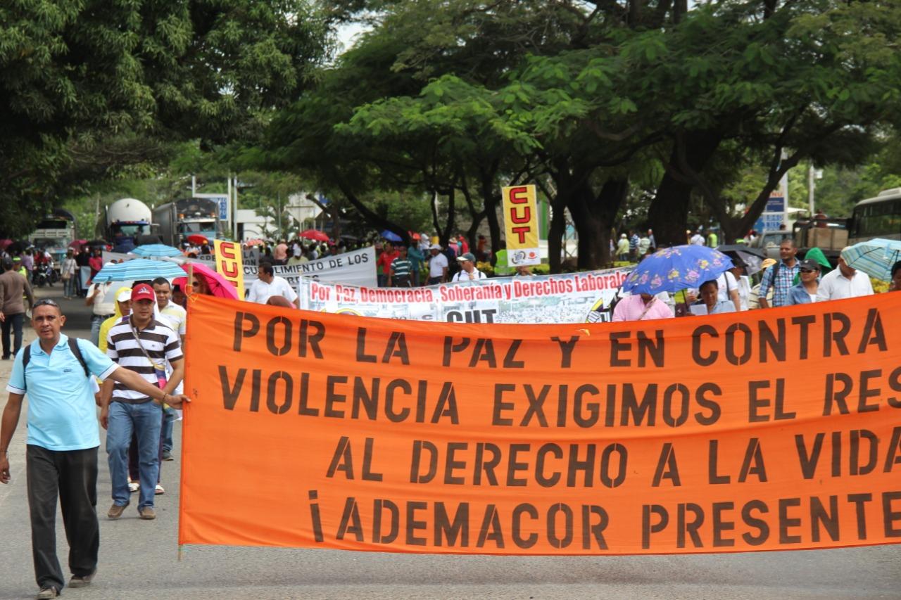 Maestros de Córdoba se unen a marcha del paro nacional, este es el recorrido - LA RAZÓN.CO