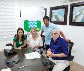 Sandra-Gómez-de-Findeter-Alfredo-Solano-de-Urrá-y-Daniel-Montero-Alcalde-electp-de-Tierralta-165x140.jpg