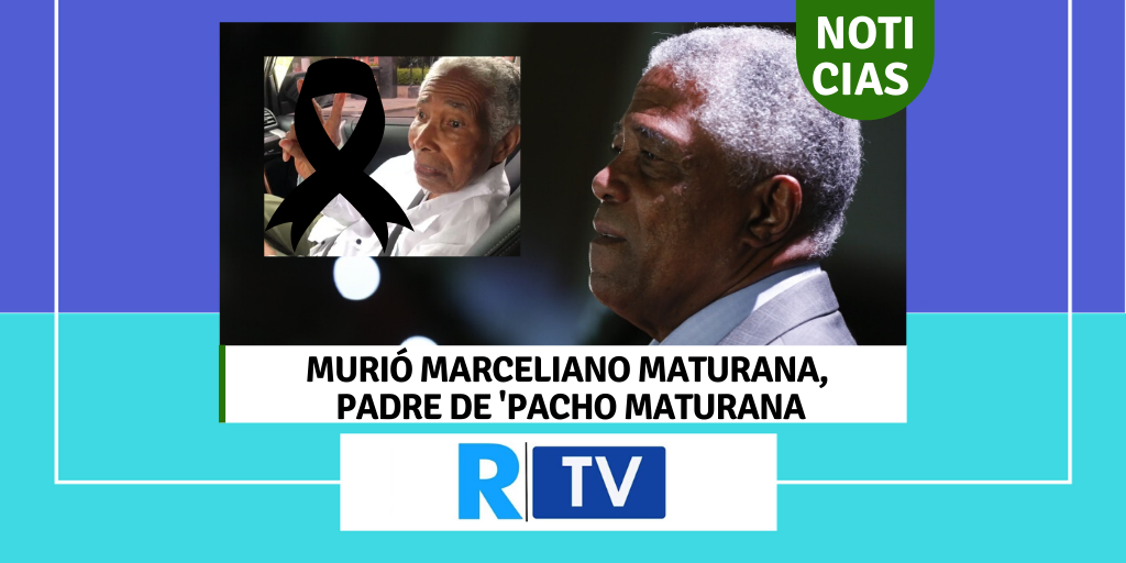 Murió Marceliano Maturana