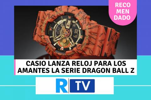 Este es el reloj de casio para los amantes de Dragon Ball Z