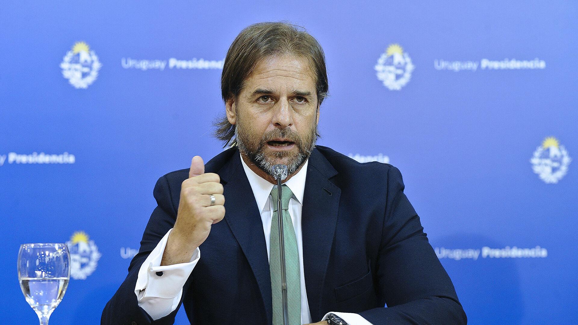 Presidente de Uruguay, Luis Lacalle Pou.